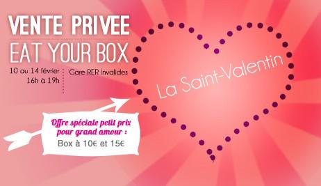 Vente Privée Eat Your Box