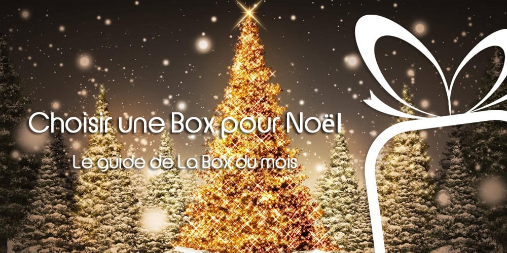 Le top des Box à offrir pour Noël