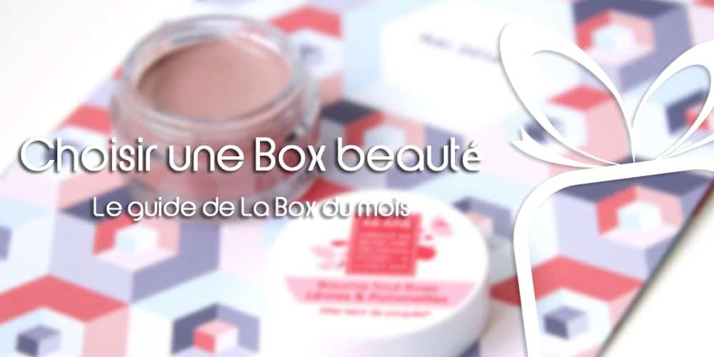 Choisir une Box beauté : notre guide d'achat