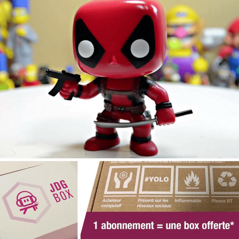 Journal du Geek Box : une box offerte pour tout nouvel abonnement