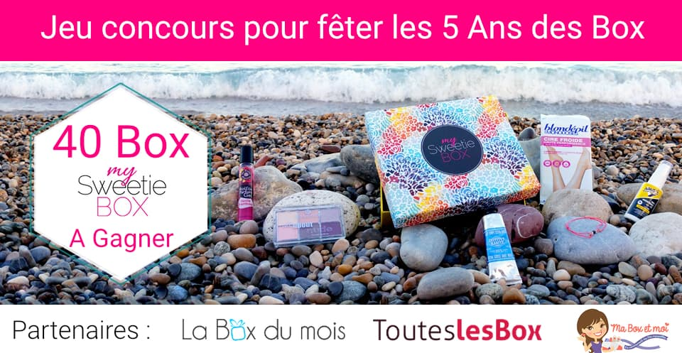 Jeu concours : 40 My Sweetie Box à gagner
