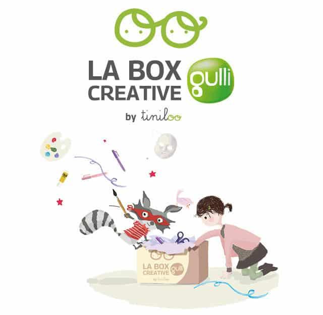 Edition spéciale - Une Box Créative Gulli pour les kids de 3 à 9 ans !