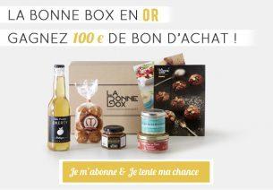 Gagner 100€ en bon d'achat avec La Bonne Box