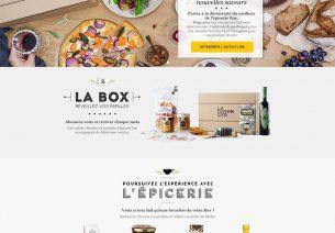 Le nouveau site de La Bonne Box