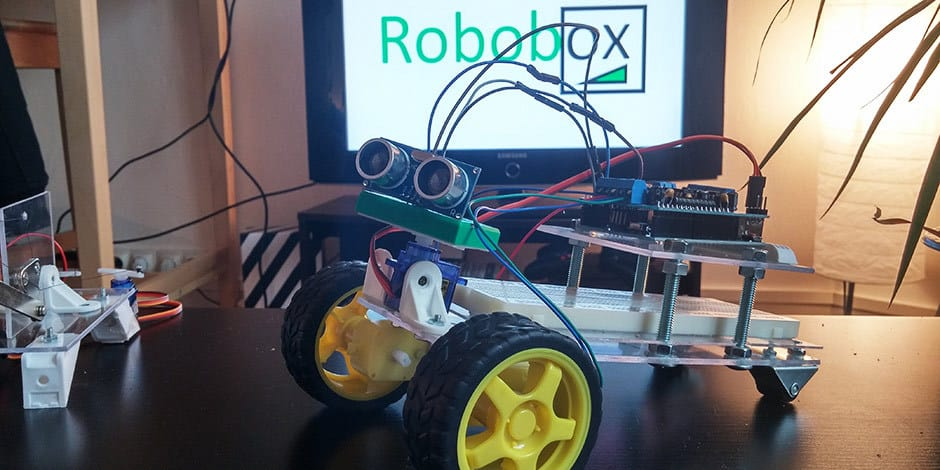 Zoom sur la Robobox