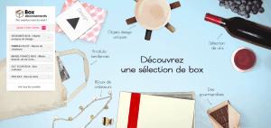 Le site Vente Privée propose 5 Box à prix réduit