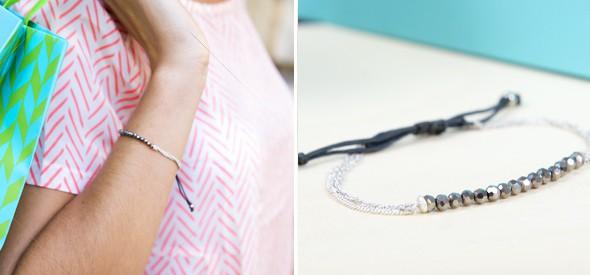 Un bracelet Birchbox x Stella & Dot est en vente sur l'e-shop de la box