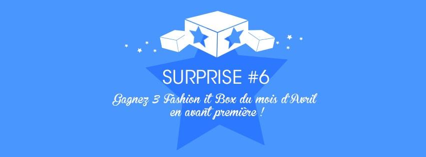 Du nouveau chez Fashion It Box + concours