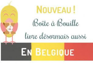 Livraison en Belgique et Salon Baby pour Boite à Bouille