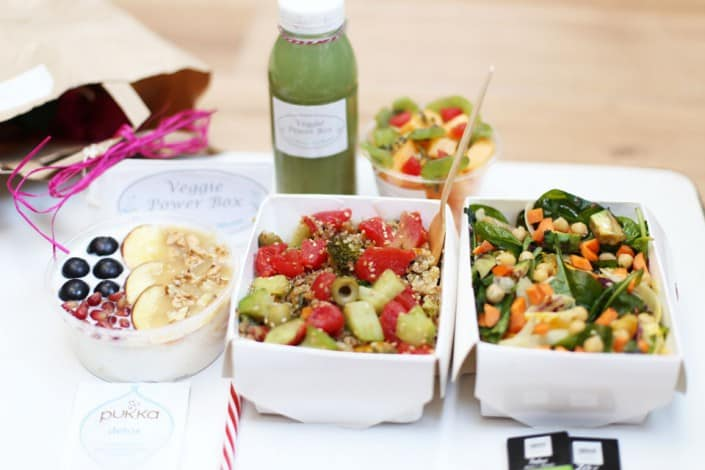Veggie Power Box : une box healthy livrée en 30 minutes