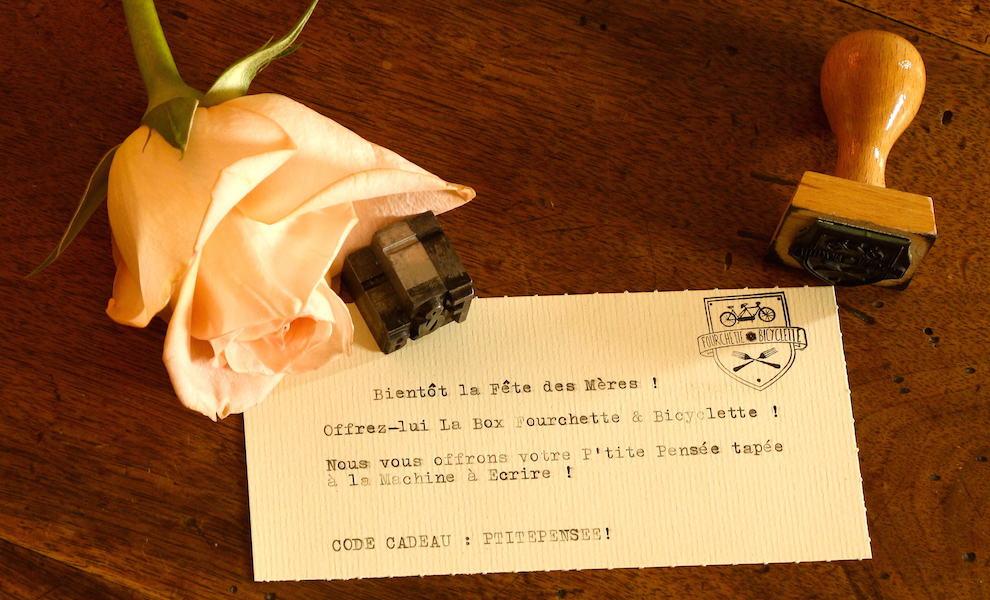 Offrez l'édition spéciale Fourchette & Bicyclette pour la fête des mères !