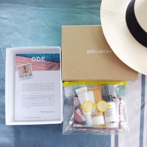 Birchbox vous laisse choisir votre produit pour ce mois d'août et vous offre les frais de port