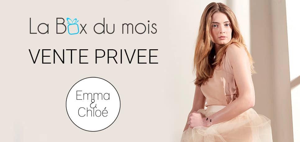 Vente privée : Emma et Chloé