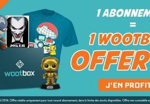 Wootbox offre une box supplémentaire pour tout nouvel abonnement