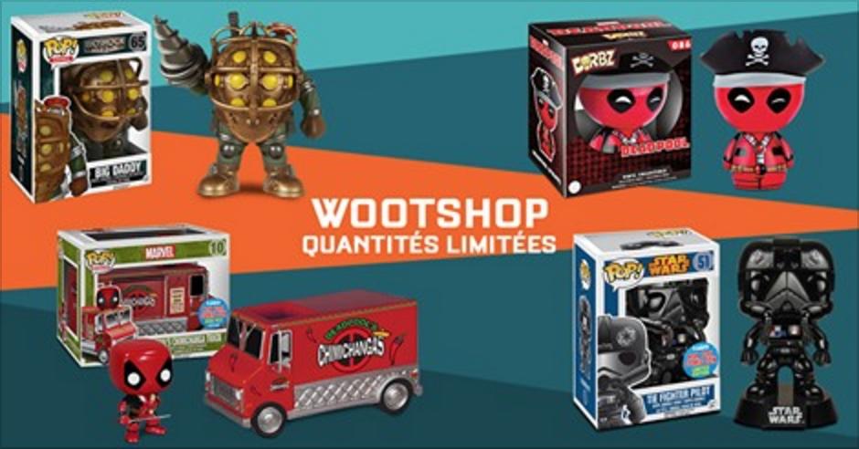 Wootbox lance son e-shop