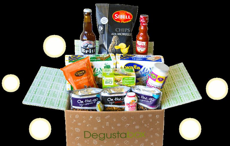 Et si vous craquiez pour la Degustabox d'Avril ?