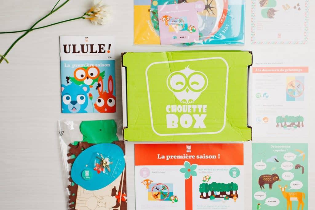 Chouette Box - Avril 2016