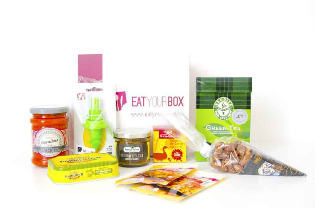 Eat Your Box - Avril 2015