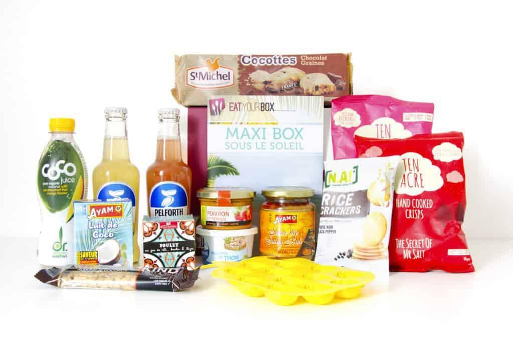 Eat Your Box - Juillet/Août 2015