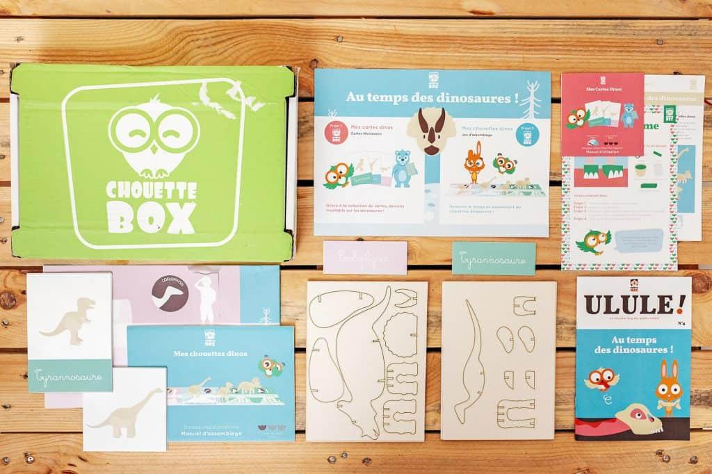 Chouette Box - Mars 2016
