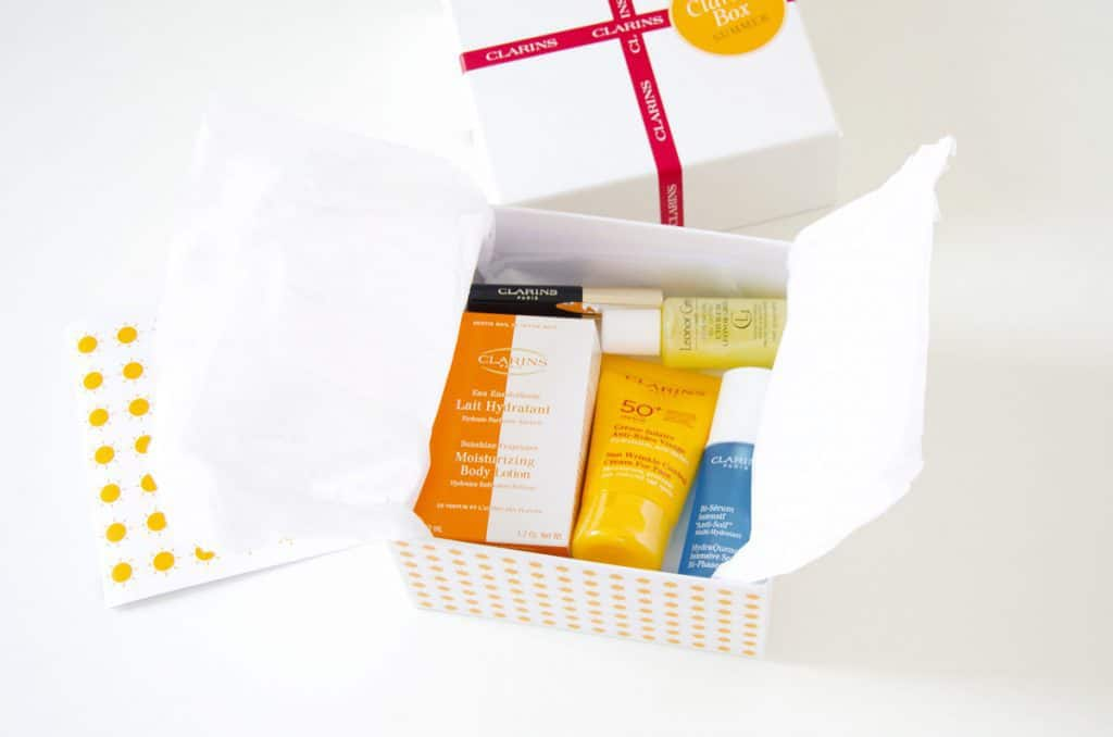 Clarins Box - Summer 2015