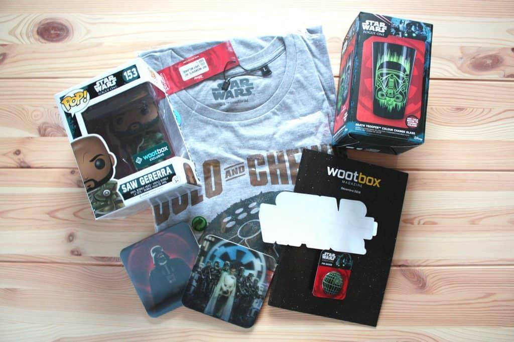 Wootbox - Décembre 2016