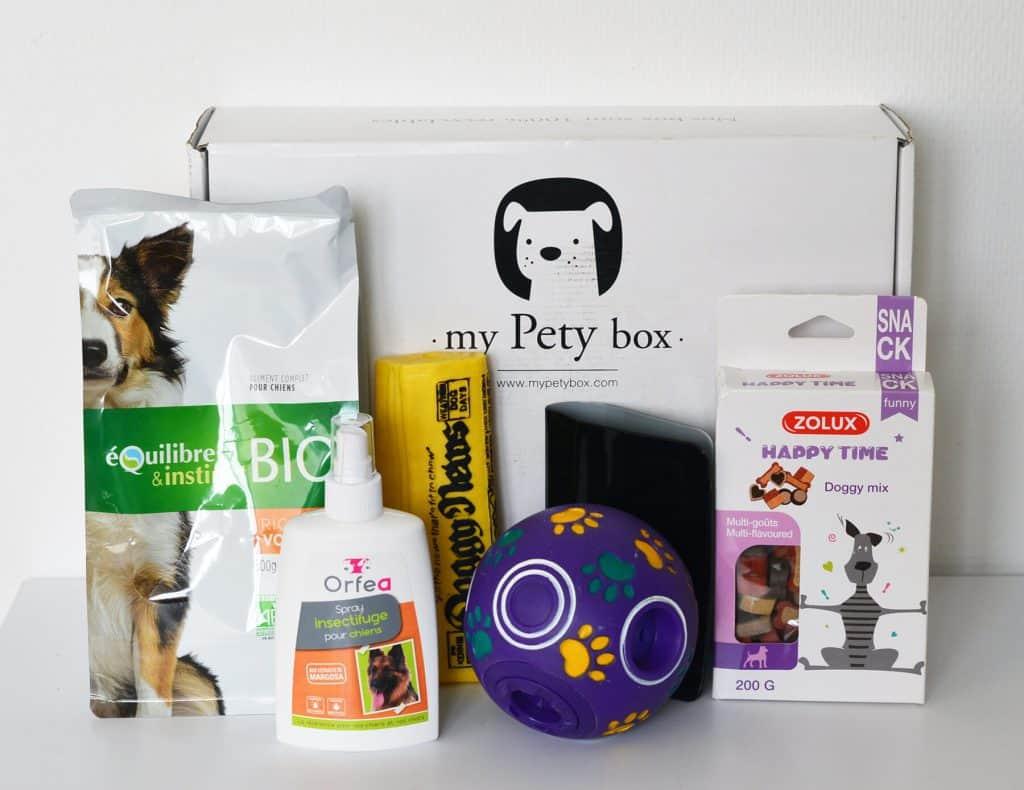 My Pety Box - Novembre 2016