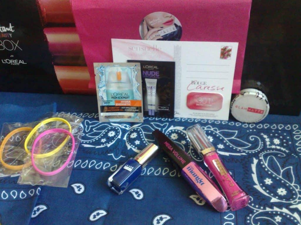 Instant Beauty Box - juin 2014