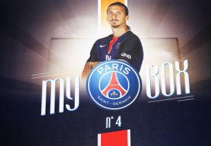 My PSG Box « Zlatan » – Avril 2016