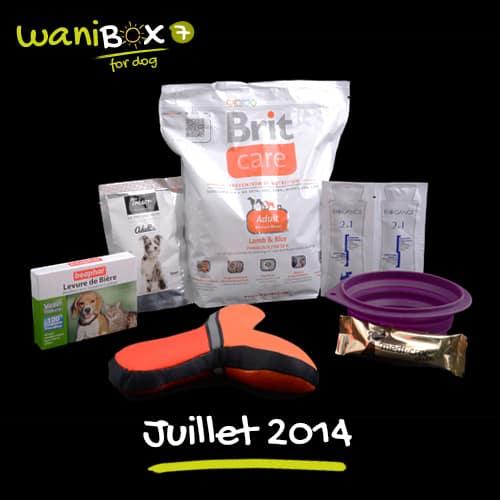 WaniBox for dog - juillet 2014