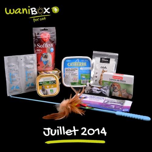 WaniBox for Cat - Juillet 2014