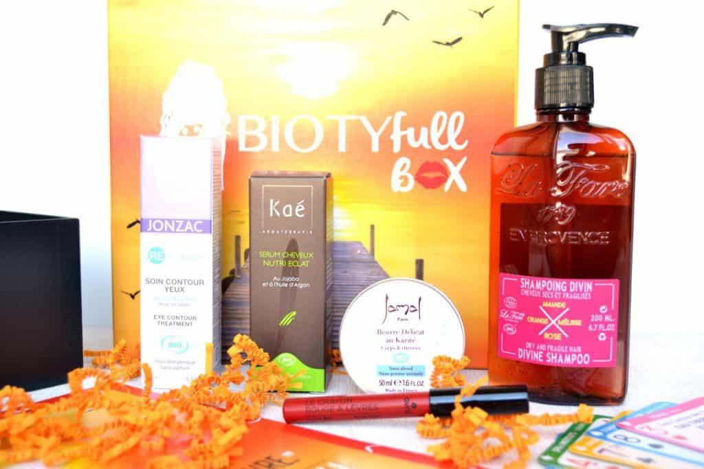 Biotyfull Box - Août 2016