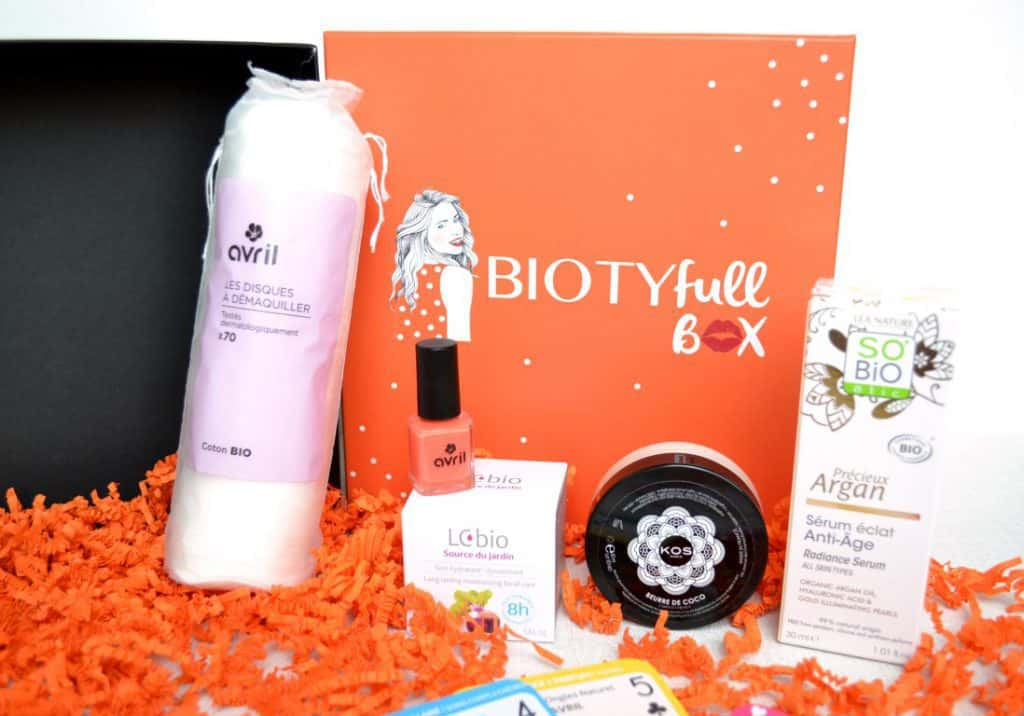 Biotyfull Box - Avril 2016