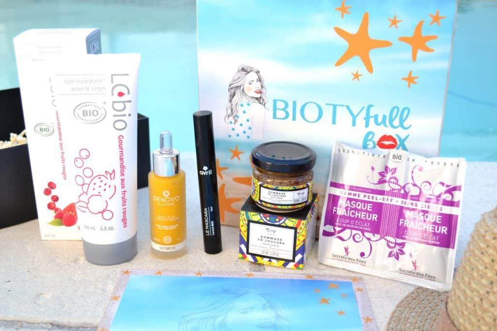 Biotyfull Box - Juillet 2016