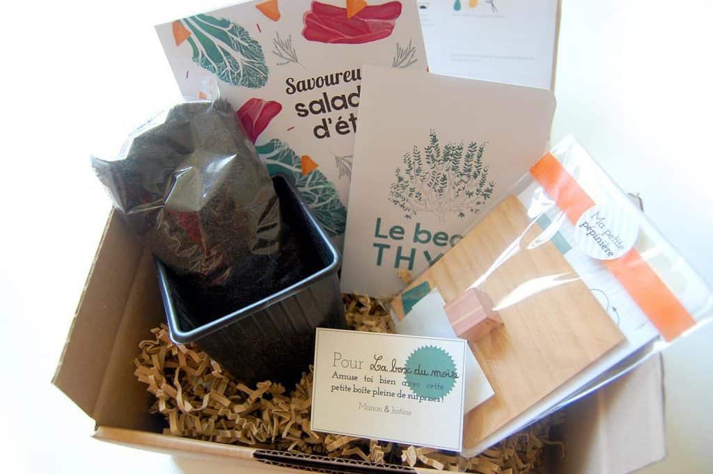 Petite boîte en carton - juin 2015