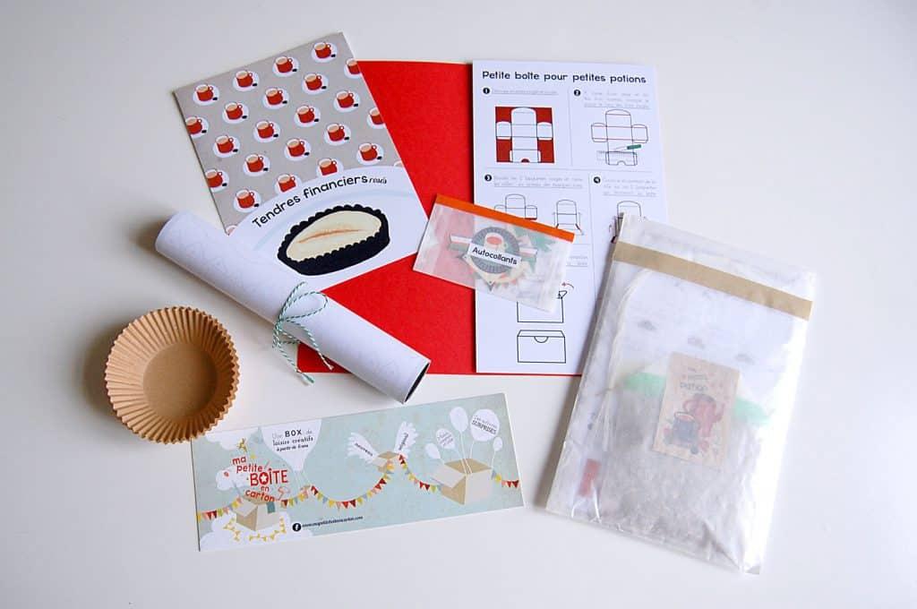 Petite boîte en carton - Octobre 2014