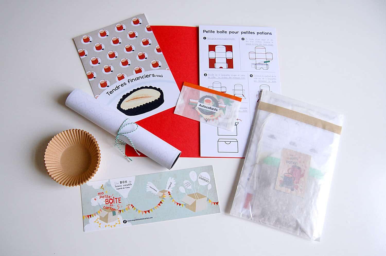 petite bo te en carton octobre 2014 la box du mois. Black Bedroom Furniture Sets. Home Design Ideas
