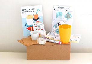 Petite boîte en carton - septembre