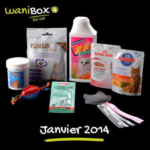 WaniBox for Cat - Janvier 2014