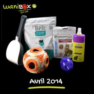 WaniBox for Cat - Avril 2014