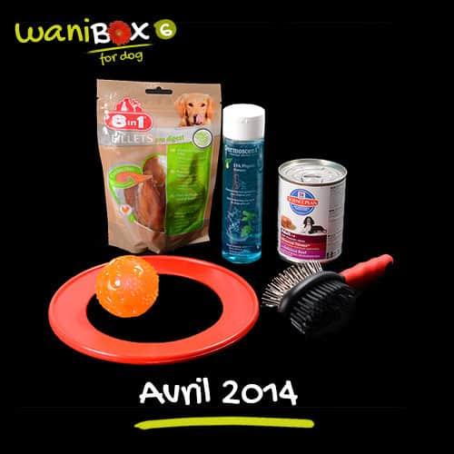 WaniBox for dog - Avril 2014