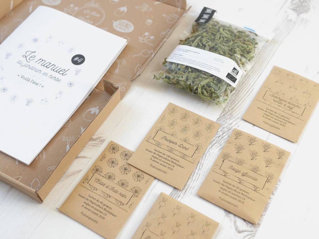 La Box à planter - Été 2016