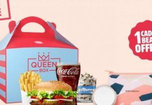 Burger King lance la Queen Box pour la Fête des Mères