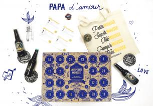 Une Petite Mousse : Une box calendrier pour la fête des pères 2017