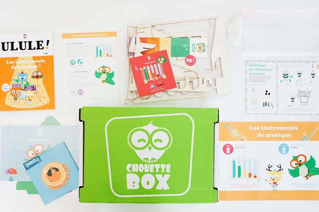 Chouette Box - Juillet 2016