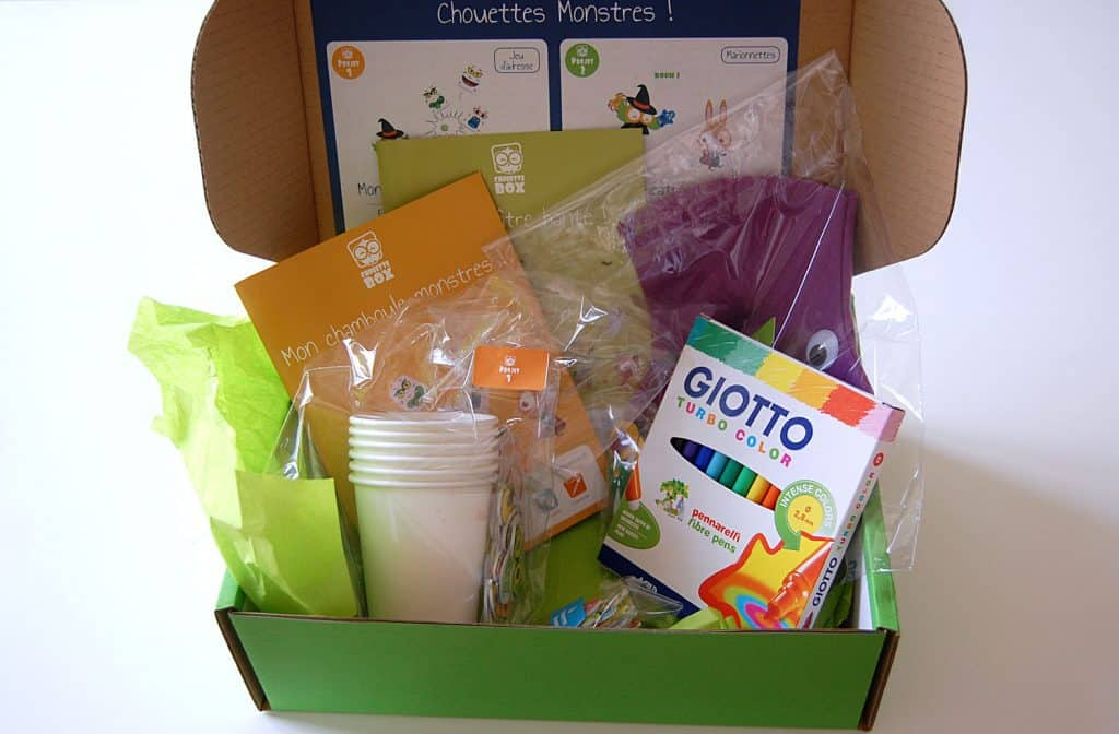 Chouette Box - Octobre 2014
