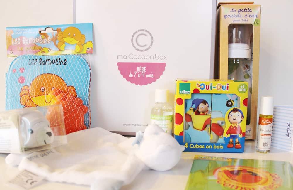 Ma Cocoon Box - Bébé de 7 à 9 mois