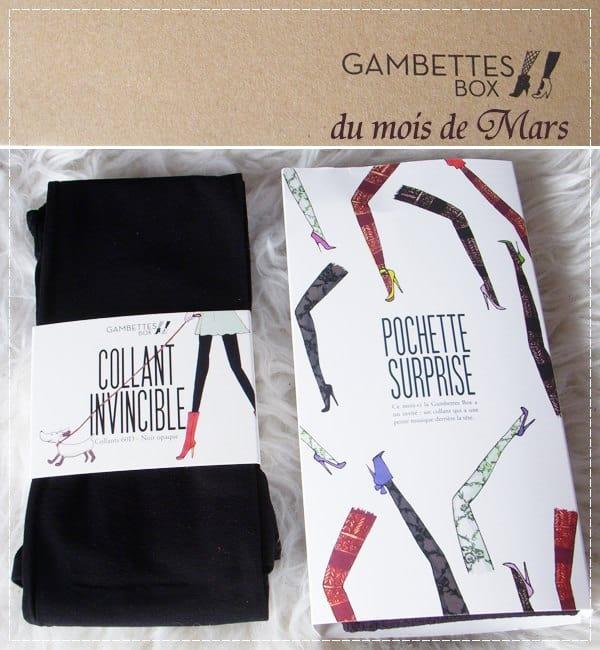 Gambettes Box - Mars '13
