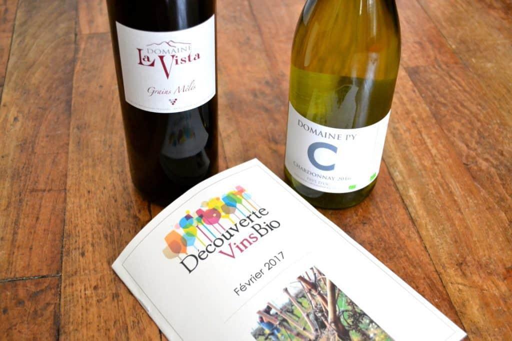 Découverte Vins Bio - Février 2017