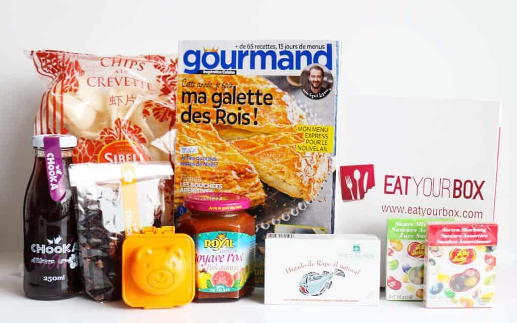 Eat Your Box - Janvier 2016